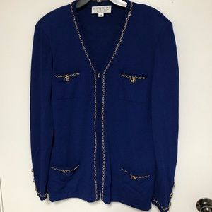 St. John Collection by Marie Gray Sweater Sz 14